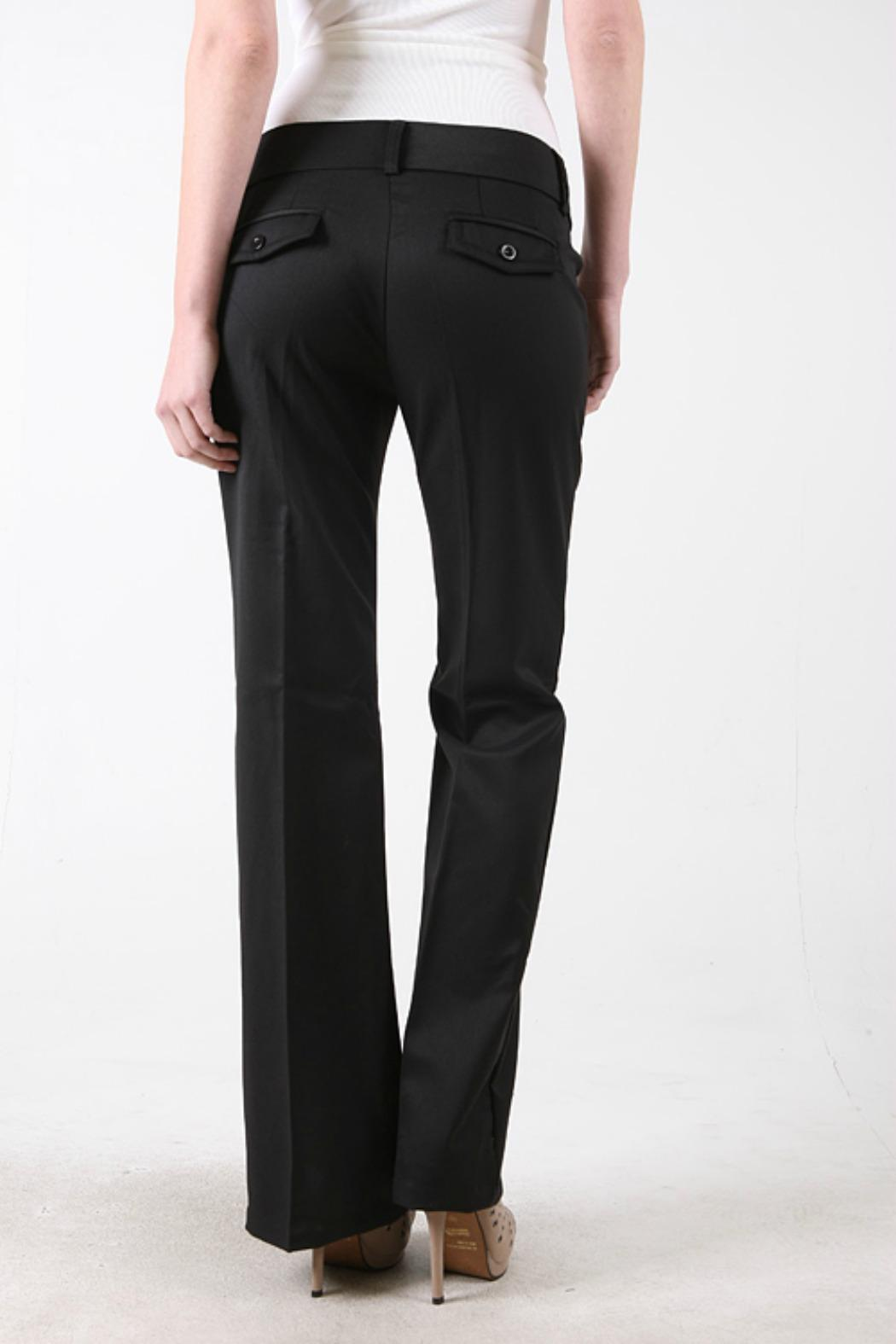 Color Swatch Basic Trouser Pant - Front Full Image