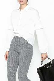 Color Thread Button Down Shirt - Front cropped