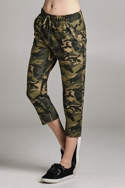 Color Thread Camo Sweatpants - Product Mini Image