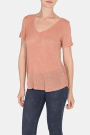 Color Thread Classic Boyfriend Tee - Front cropped