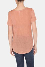 Color Thread Classic Boyfriend Tee - Back cropped