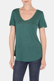 Color Thread Geri Boyfriend Tee - Front cropped