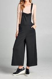 Color Thread Suspender Jumpsuit - Product Mini Image