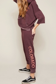 All Things Fabulous Colorado Cropped Sweats - Product Mini Image