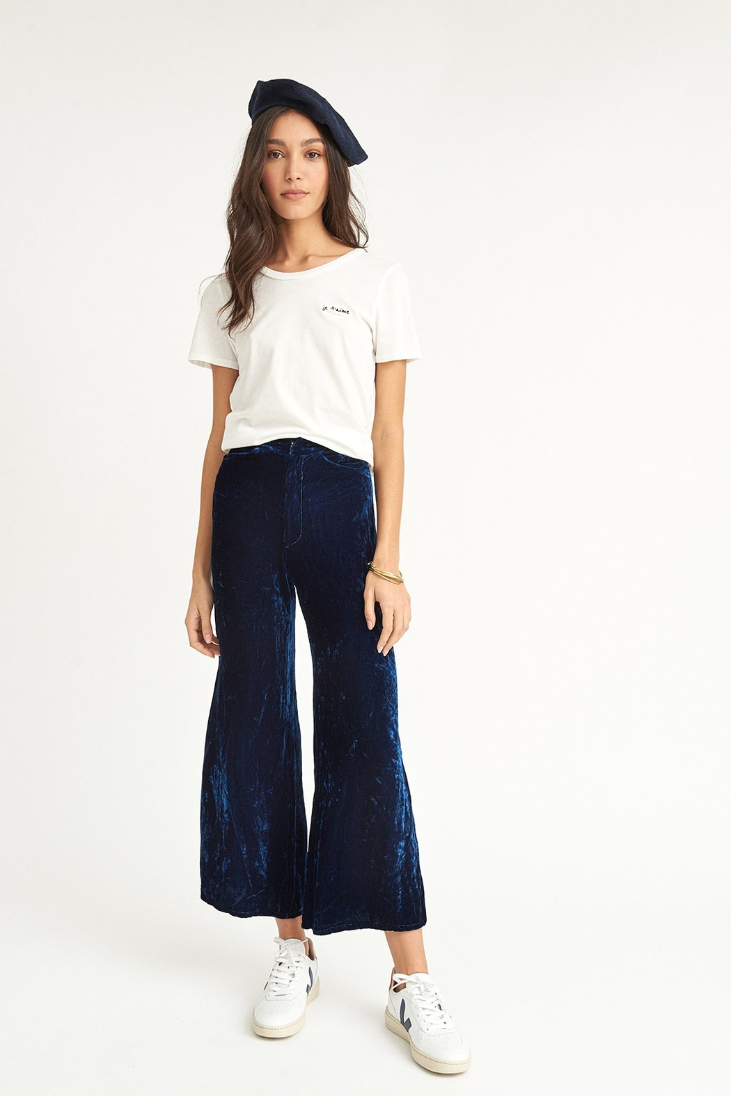 COLORANT High Waisted Pants - Main Image