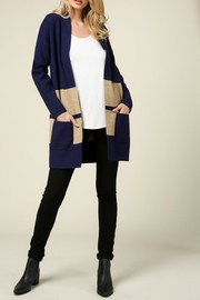 Lumiere Colorblock Cardigan - Product Mini Image