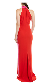 Issue New York Colorblock Gown - Front full body