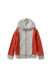 Tea Collection  Colorblock Hoodie - Product Mini Image