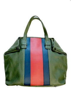 Leather Country Colorblock Leather Tote - Product List Image