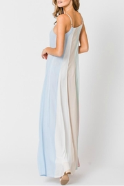 Pretty Little Things Colorblock Maxi Dress - Front full body