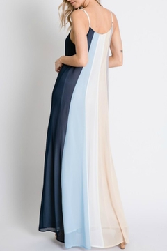 Pretty Little Things Colorblock Maxi Dress - Alternate List Image