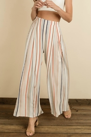 Pretty Little Things Colorblock Palazzo Pants - Product Mini Image