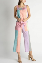 Current Air Colorblock Paperbag Pants - Side cropped