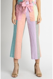 Current Air Colorblock Paperbag Pants - Product Mini Image