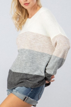 debut Colorblock Pullover Sweater - Product List Image