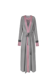VELVETTE Colorblock Robe - Product Mini Image