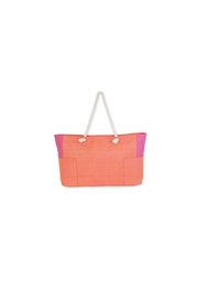 Sun n Sand Colorblock Shoulder Tote - Product Mini Image