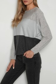 SWTR Colorblock Sparkle Dolman Sweater - Product Mini Image