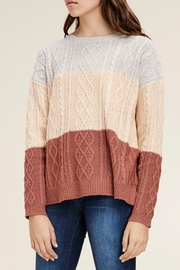 LuLu's Boutique Colorblock Sweater - Product Mini Image