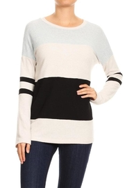 Freeloader Colorblock Sweater - Product Mini Image