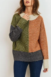 Cherish Colorblock Sweater - Product Mini Image