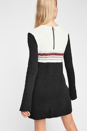 Free People Colorblock Sweater Dress - Front full body