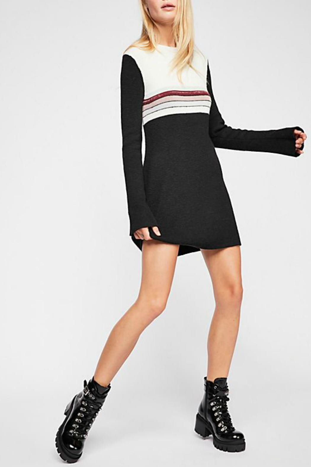 Free People Colorblock Sweater Dress - Main Image
