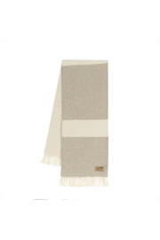 The Birds Nest COLORBLOCK SYDNEY HERRINGBONE THROW - Product Mini Image