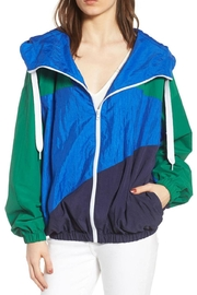 Kendall + Kylie Colorblock Windbreaker Jacket - Product Mini Image