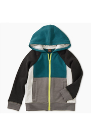 Tea Collection Colorblock Zip Hoodie - Product Mini Image