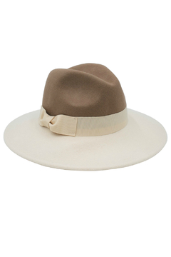 Shoptiques Product: Colorblocked Fedora