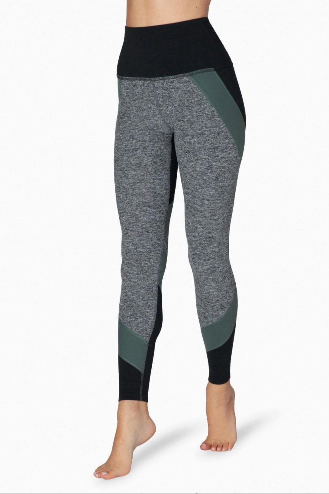 Beyond Yoga Colorblocked Hw Legging - Front Full Image
