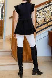 Thml Colorblocked Rib Sweater - Front full body