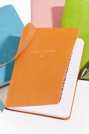 Two's Company Colored Notebook- Orange - Product Mini Image