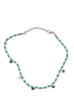 Shoptiques Product: Colorful Beaded-Star Choker