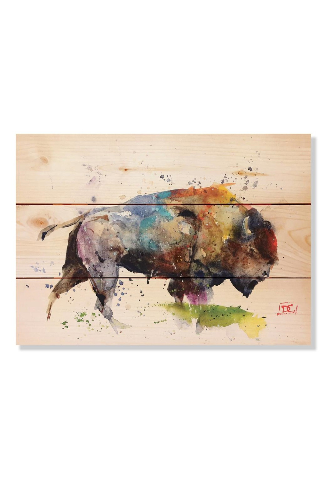daydreamhq Colorful Bison (15
