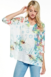 Inoah Colorful Boxy Top - Product Mini Image