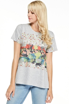 Inoah Colorful Cat Top - Product List Image