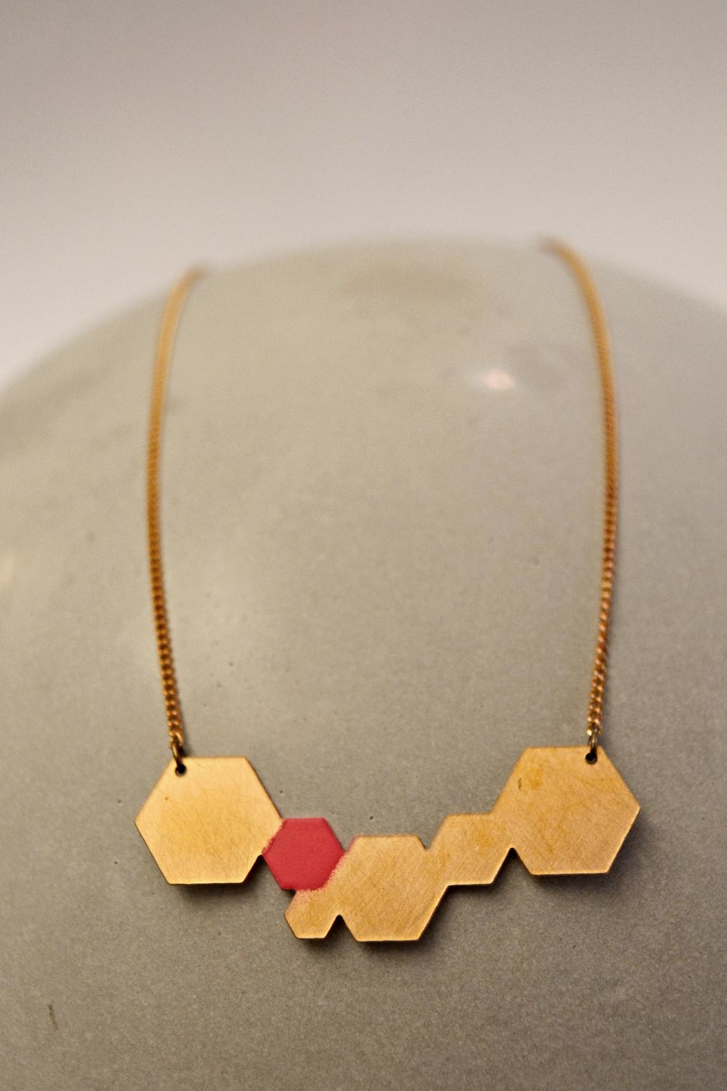 Ruby on Tuesday Colorful Collier  Necklace - Front Cropped Image