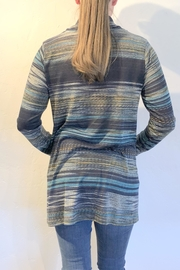 Erin London Colorful Cowl-Neck Sweater - Front full body