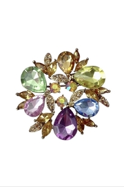GHome2 Colorful Crystal Brooch - Product Mini Image