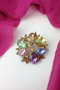 GHome2 Colorful Crystal Brooch - Product List Image