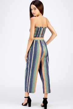 Idem Ditto  Colorful Denim Jumpsuit - Alternate List Image