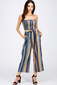 Idem Ditto  Colorful Denim Jumpsuit - Product List Image
