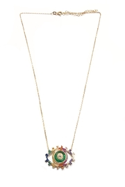 Lets Accessorize Colorful Eye Necklace - Product Mini Image