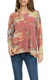 Cubism Colorful Flare Top - Product Mini Image