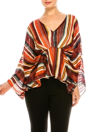 Flying Tomato Colorful Flowy Blouse - Product Mini Image
