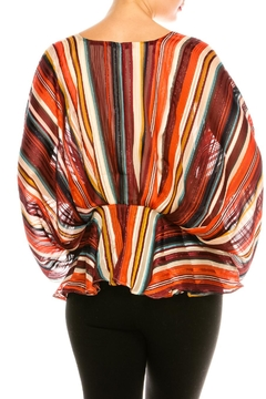 Flying Tomato Colorful Flowy Blouse - Alternate List Image