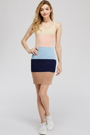 storia Colorful Knit Dress - Front cropped