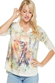 Inoah Colorful Knit Top - Front cropped